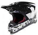 ALPINESTARS Supertech S-M8 Helmet Triple ECE Orange Gray Glossy Black