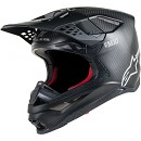 ALPINESTARS Supertech S-M10 Solid Helmet ECE Black / Matt / Carbon