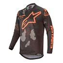 ALPINESTARS Racer Tactical Jersey Black / Gray / Camo / Orange Fluo