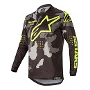 ALPINESTARS Racer Tactical Jersey Black / Gray / Camo / Yellow Fluo