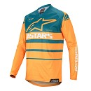 ALPINESTARS Racer Supermatic Jersey Orange / Petrol