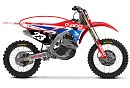 D'Cor Seatcover CRF250 18-20 / CRF450 17-20 Honda Red / White / Blue RED BUD