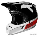 FOX V3 Preest A1 LE Helmet Black/Red Size L