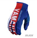 TROY LEE Designs Yamaha Factory RS1 GP MX Gloves Blue Size M