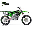 D Cor Graphic Kit Monster KXF250 13-16