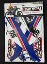 Enjoy Team WILVO 50th Aniverssary Graphic Kit YZF250 19-.. / YZF450 18-19