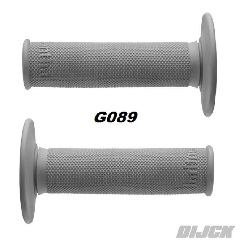 Renthal G089 Gray Full Diamond Soft Compound Motocross Grip