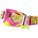 RNR Platinum R/O Goggle Neon Pink 48mm WVS