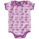 SMOOTH 1pc Romper MX All Over Pink 12-18 Month